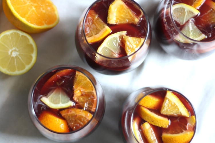 how to make sangria with red wine