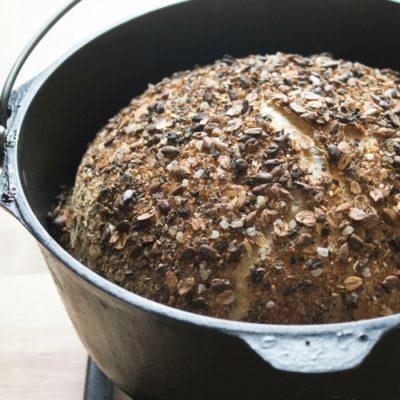 No-Knead Dutch Oven Bread sockbox10.com